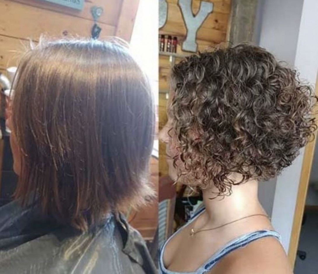 Pin By Ally Wegner On Hairstyles In 10 Permed Hairstyles Permed Bob Hair
