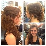 Pin By Joni Clutter On Wedding Hair By Joni Long Natural Curly Formal Hairstyles For Curly Hair