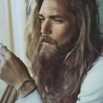 Pin By Kim On Hairstyles For Men Long Hair Styles Men, Beard Beard And Long Hair Style