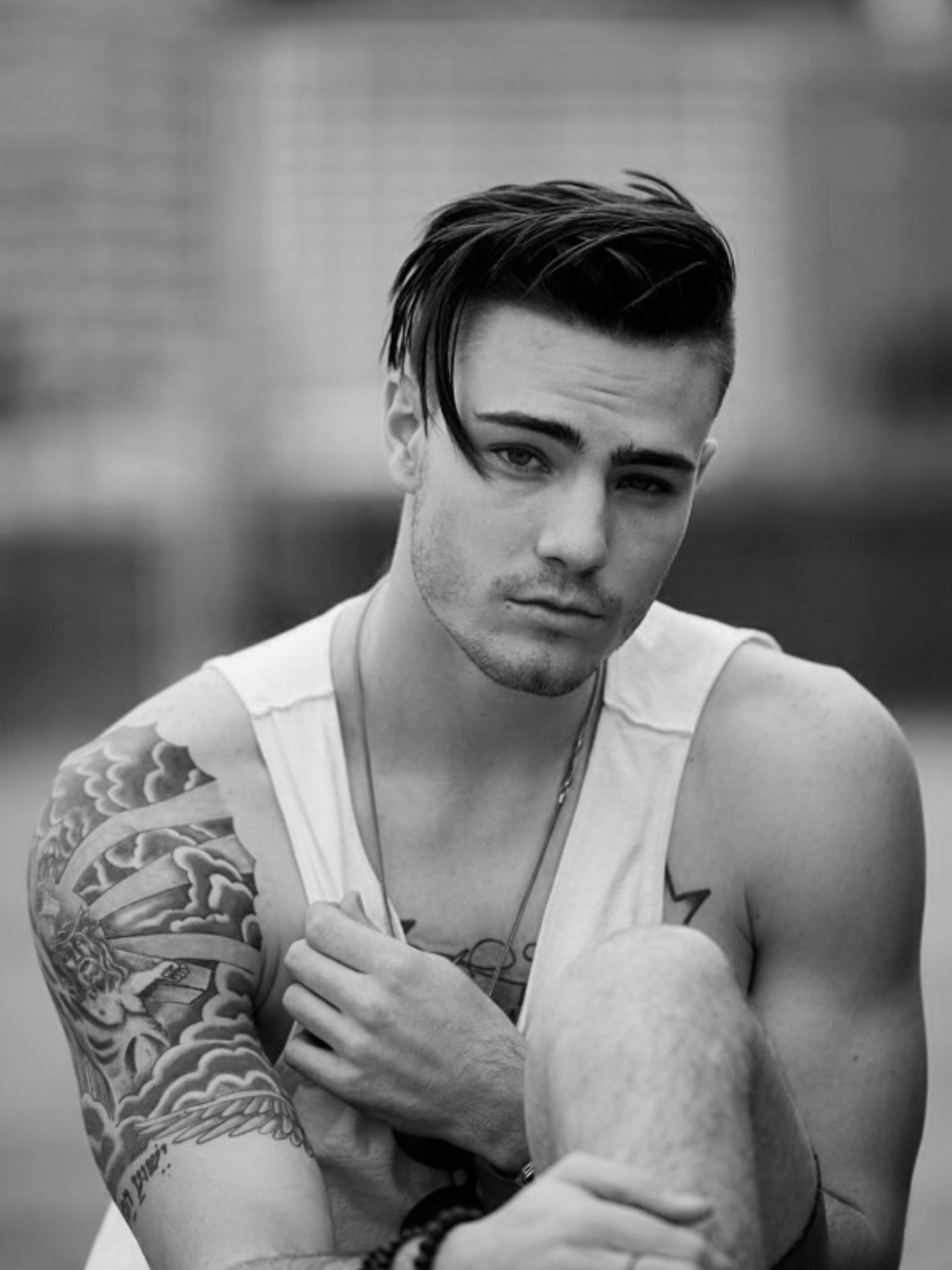 Pin By Lipper 12 On Haircuts Mens Hairstyles Fade, Hipster Shaved Sides Long Hair On Top