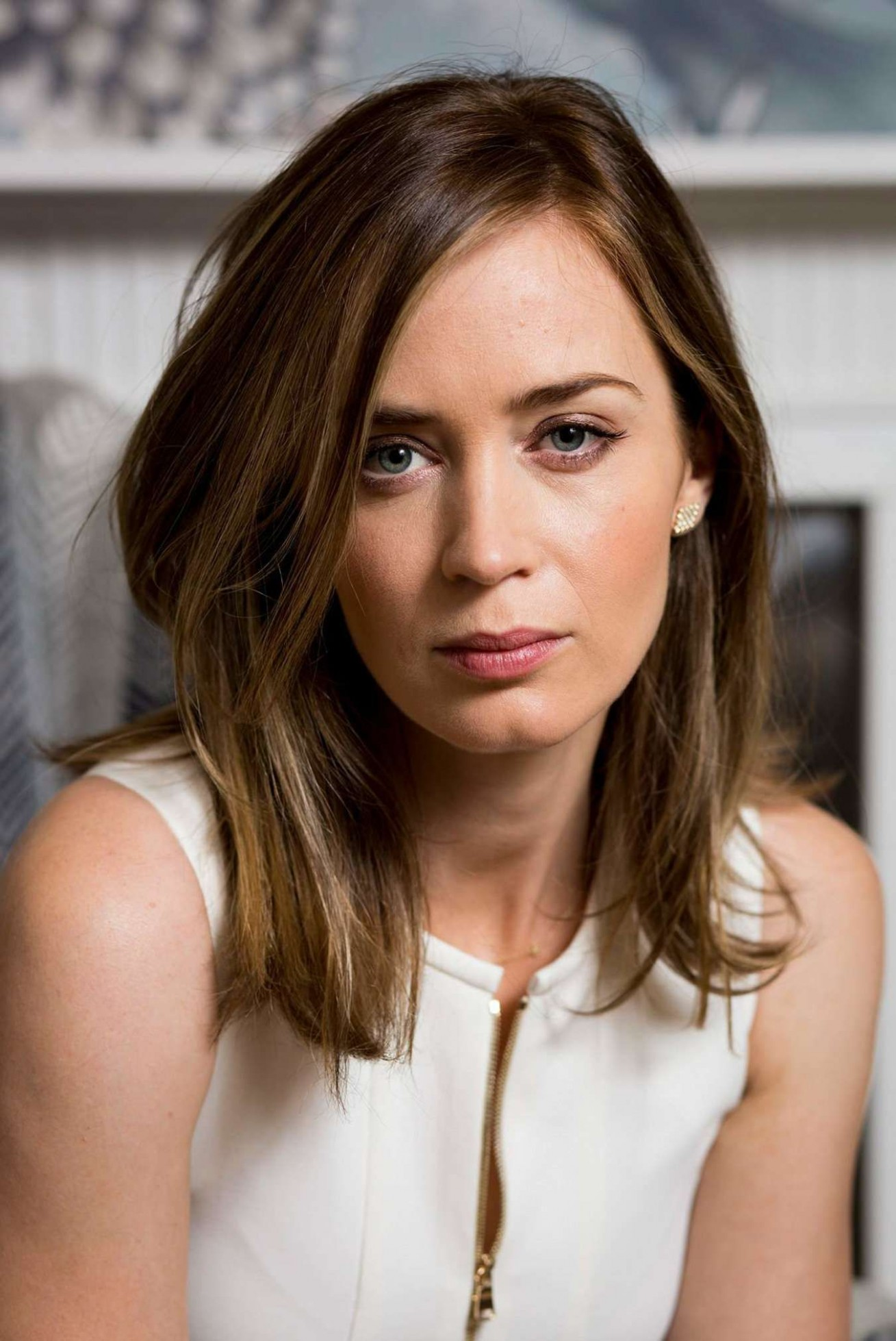 Pin By Mark Welbourne On Emily Blunt Emily Blunt, Blunt Hair Emily Blunt Haircut