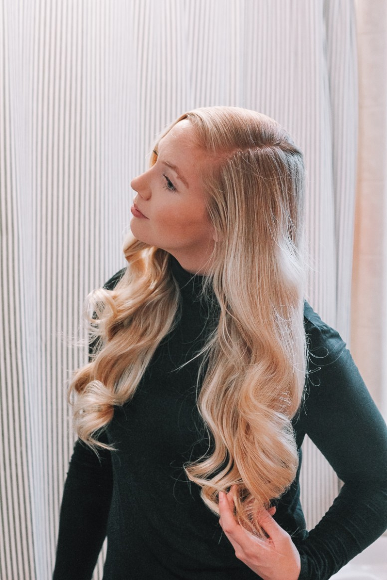 Pin Curls Hair Tutorial: How To Make Your Curls Stay All Day Pinned Up Curls