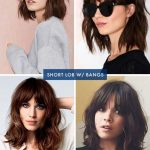 Pin On Beauty Curly Lob With Bangs