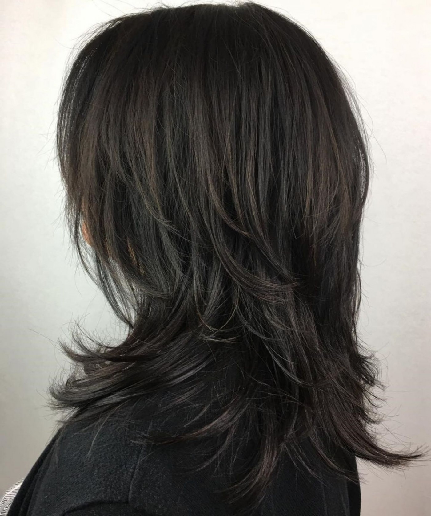 Pin On Beauty Long Shaggy Hairstyles For Thick Hair