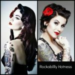 Pin On Beauty/Makeup Rockabilly Hairstyles For Long Hair