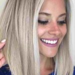 Pin On Blonde Hair Long Bob Haircut For Round Face