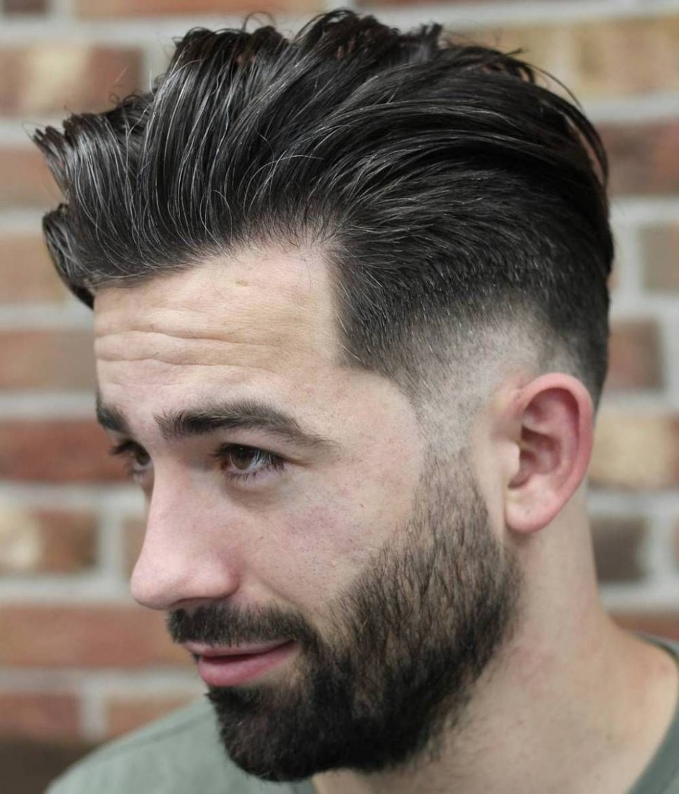Pin On BSC Mens Haircut Fade Long On Top