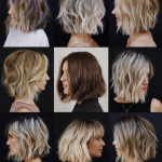 Pin On Color Short Lob Hairstyles