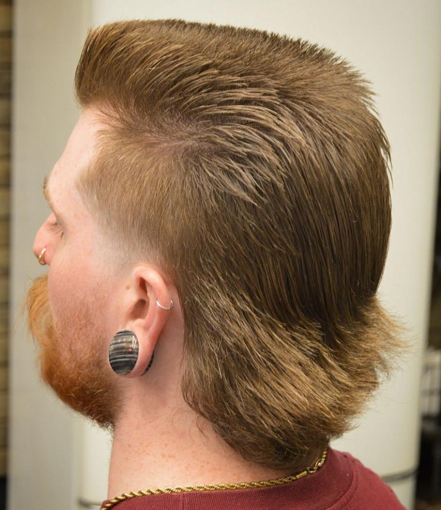 Pin On Creative Side A Mullet Hairstyle