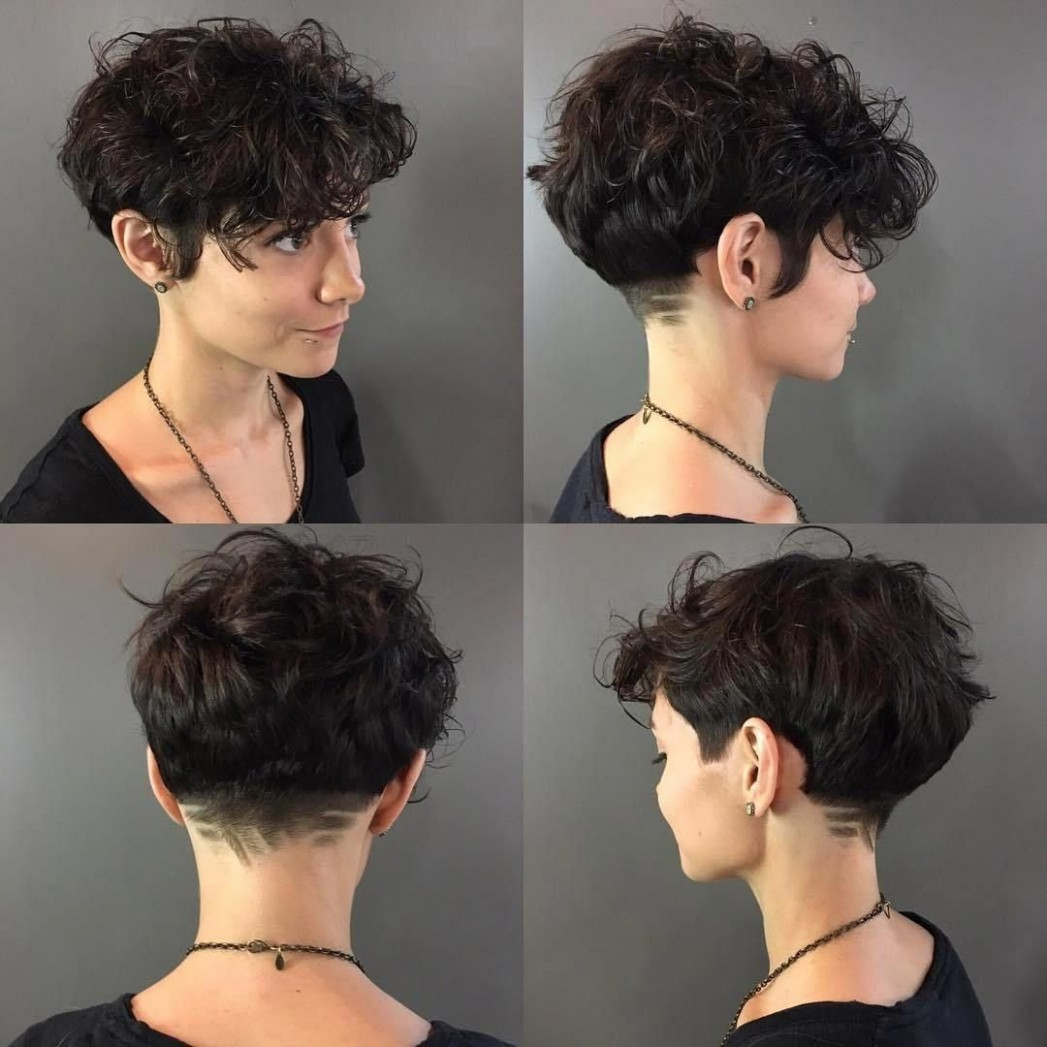 Pin On Curly Haircut Shaved Curly Hairstyles