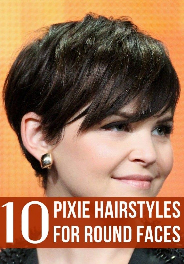 Pin On Cute Hairstyles Pixie Cut For Round Face