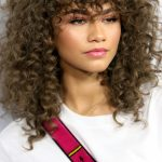 Pin On Fashion And Hair Ideas Girls With Curly Hair And Bangs
