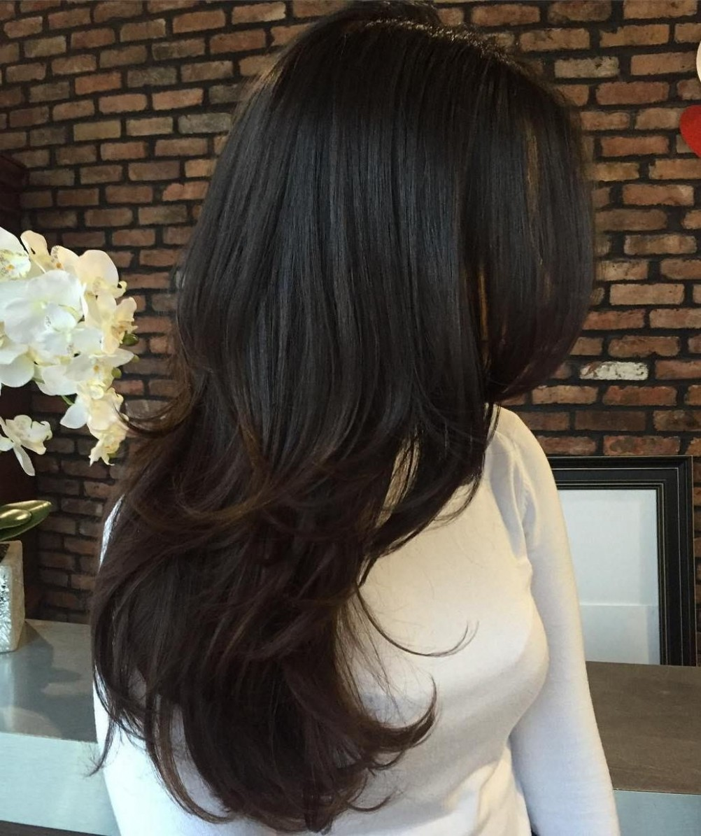 Pin On Fashion, Hair And Style Cutting Layers In Long Hair
