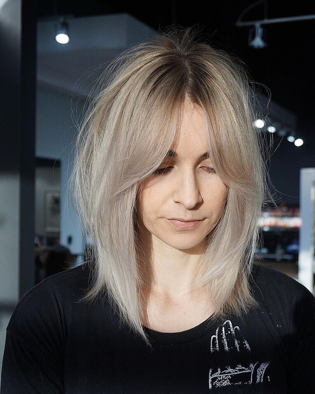 Pin On FreemanLefebvre Straight Lob With Bangs