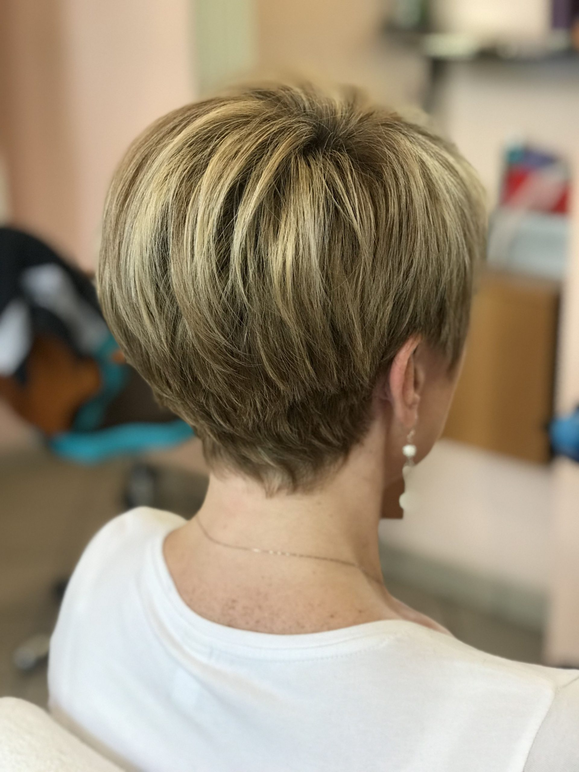 Pin On Hair 10 Stacked Pixie Cut