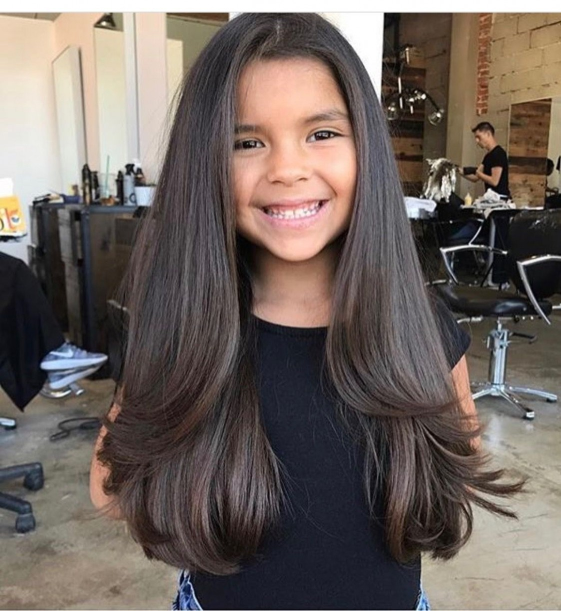 Pin On Hair Cuts Haircuts For Little Girls With Long Hair