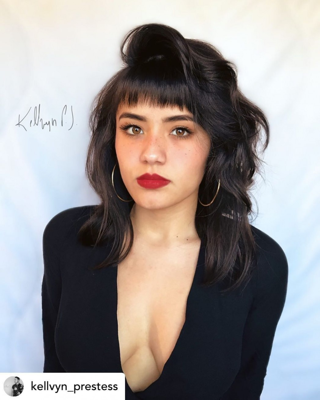 Pin On Hair Inspo Baby Bangs Round Face