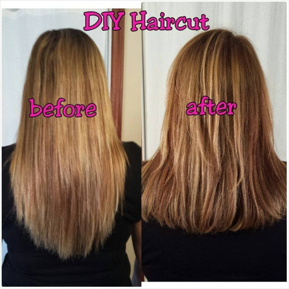 Pin On Hair, Nails And Makeup Ideas Please! Cut Your Own Long Hair