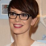 Pin On Hair Pixie Cut With Glasses