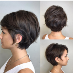 Pin On Hair Short Hairstyles For Thick Hair And Oval Face