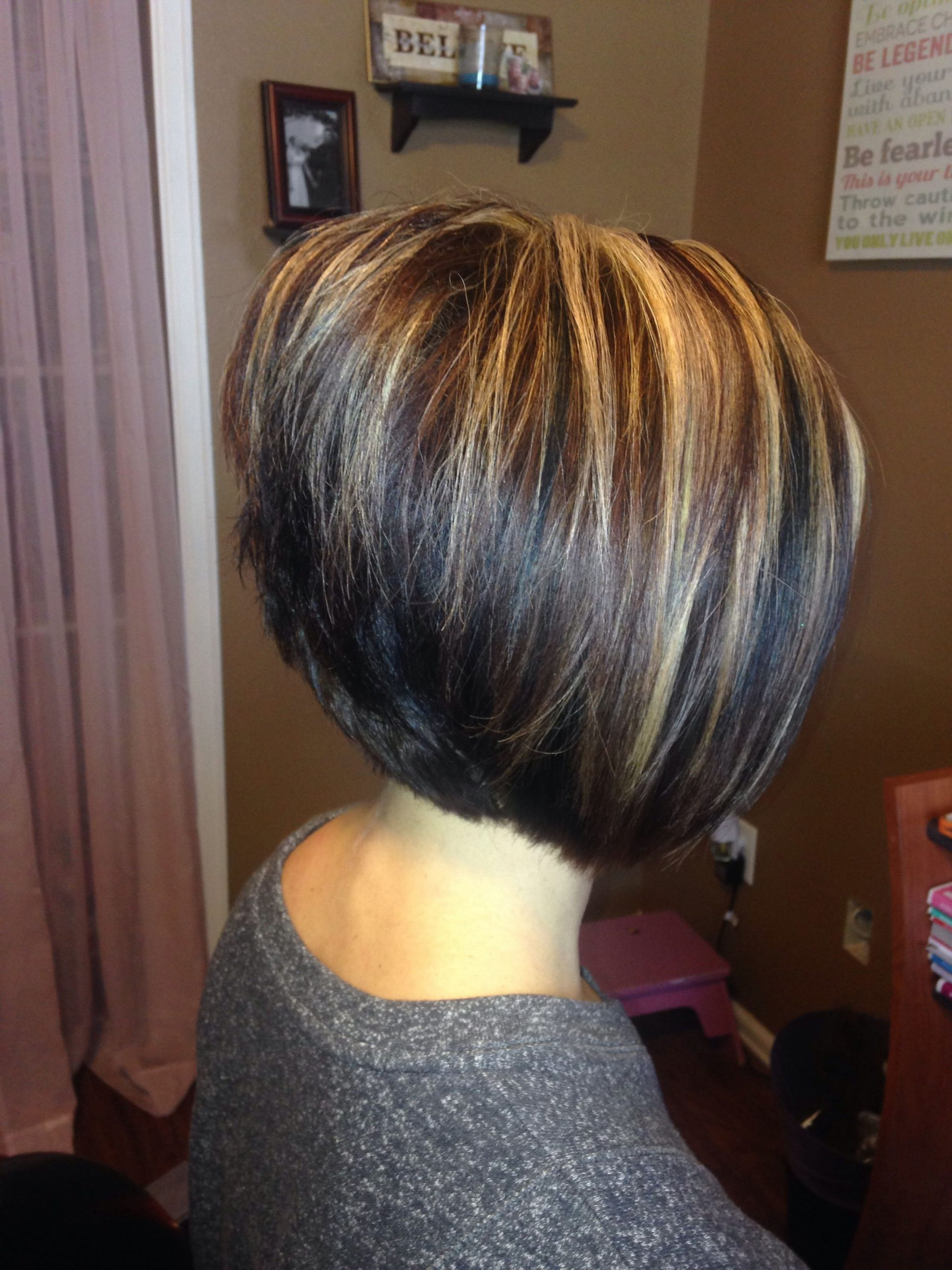Pin On Hair Stacked A Line Haircut