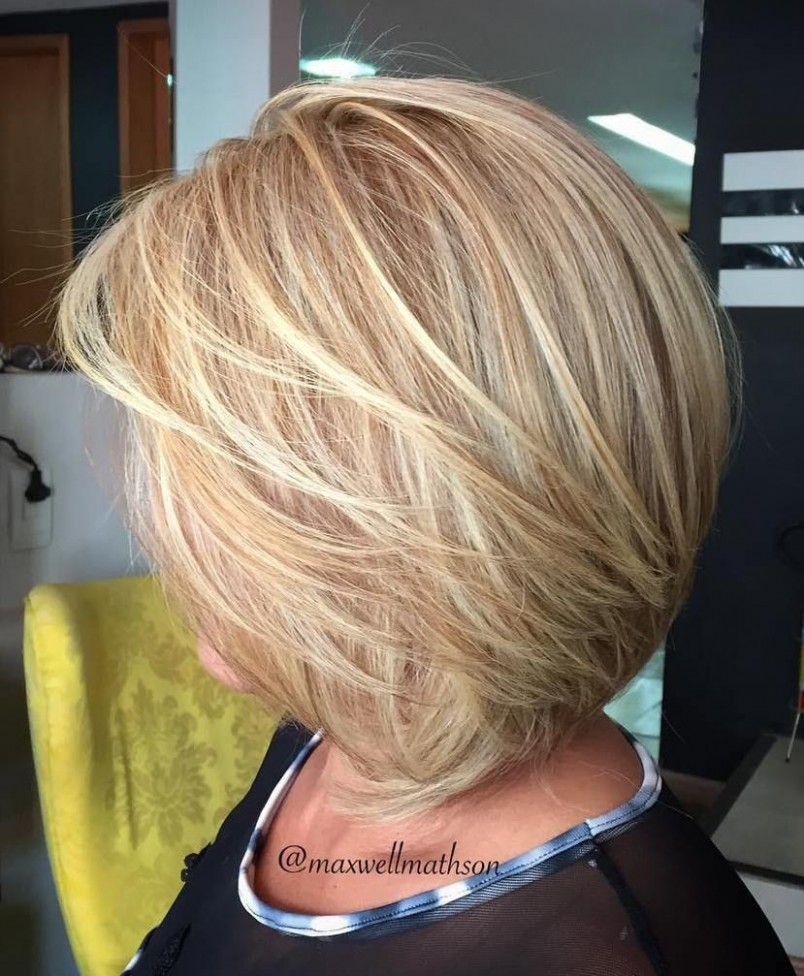 Pin On Hair Styles Layered Bob Hairstyles For Over 40