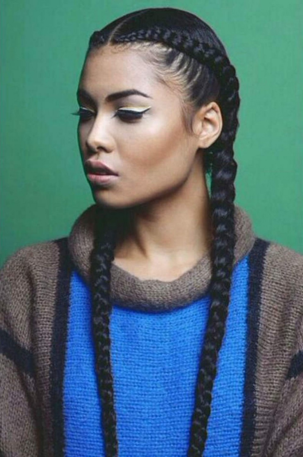 Pin On Hair (Styles) Two Long Braids