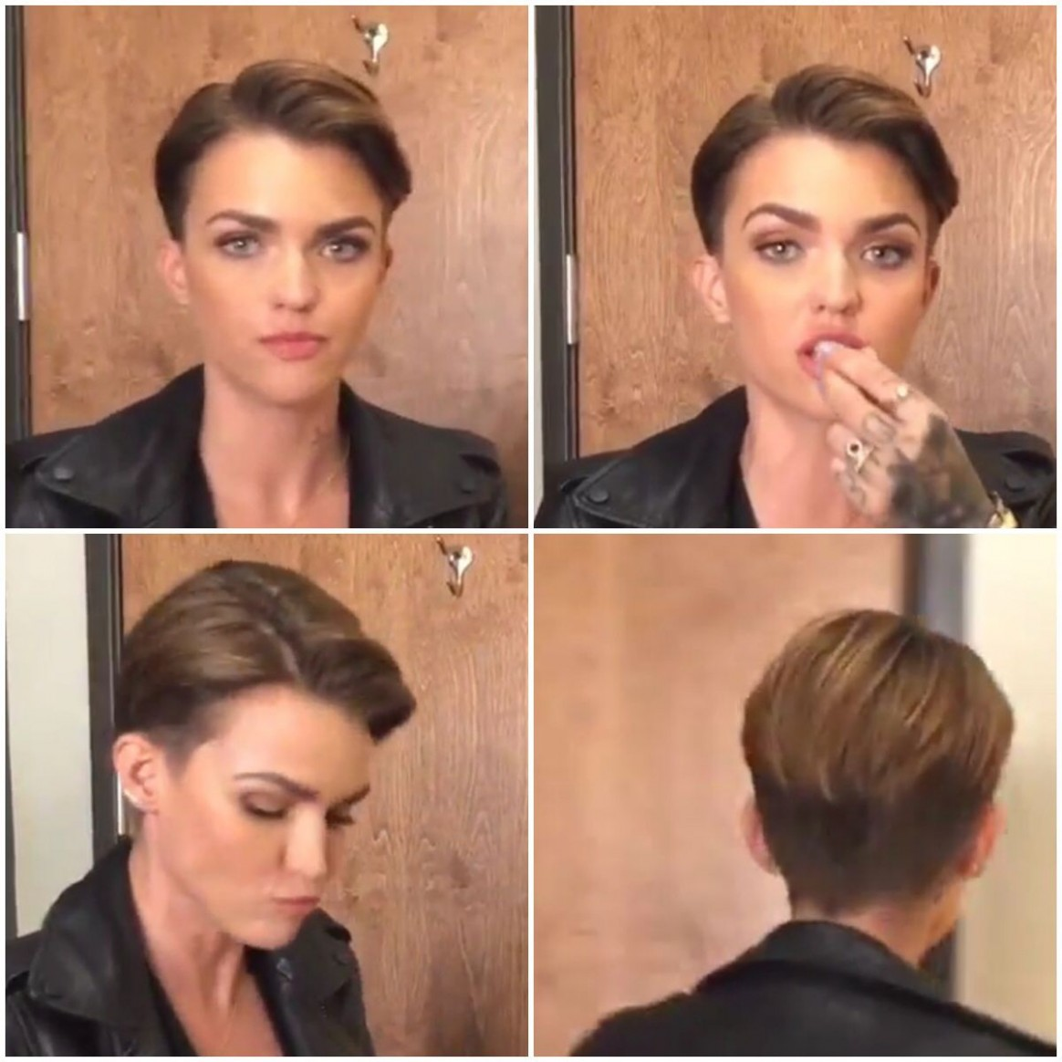 Pin On Hairs Ruby Rose Pixie Cut