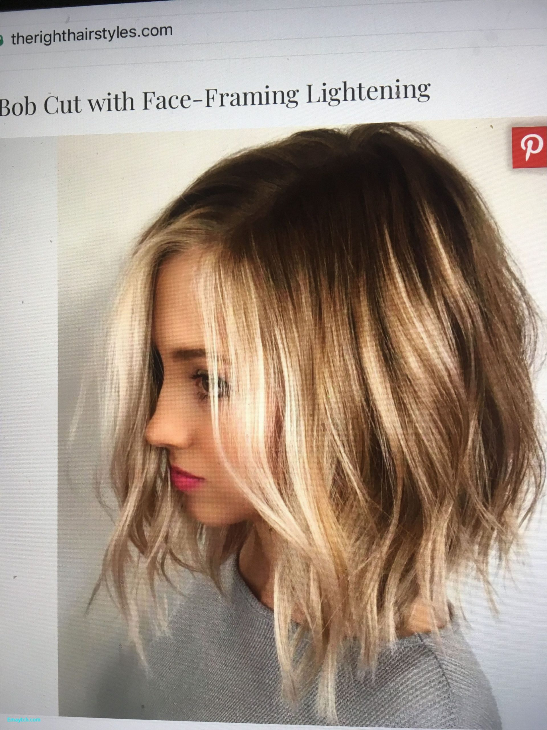 Pin On Hairstyles Easy Ideas Mid Length Hair For Round Face
