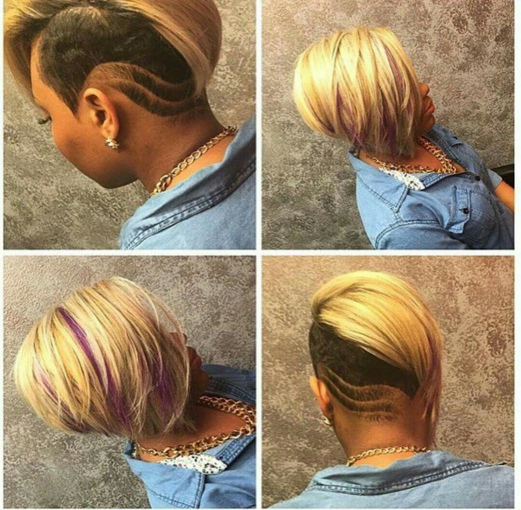 Pin On Hairstyles Shaved Side Bob Black Hairstyles