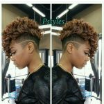 Pin On I Love Short Cuts And Color Short Mohawk Hairstyles With Weave