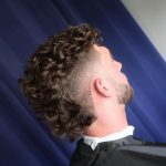 Pin On It's A Man Thing! Curly Hair Mohawk Male