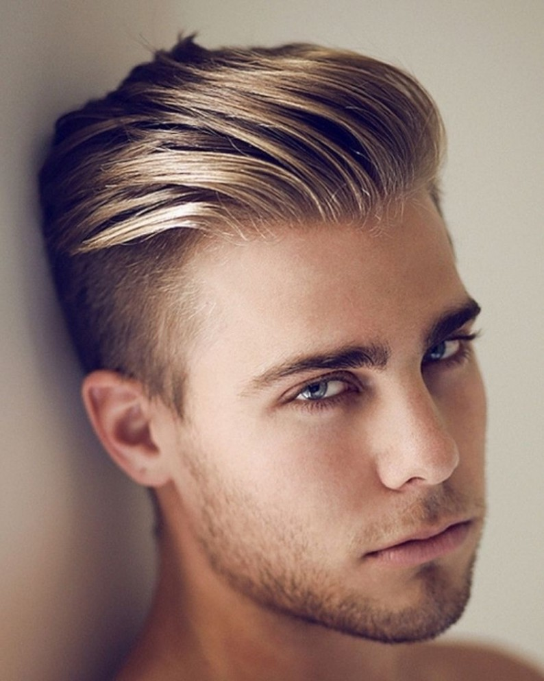 Pin On Long On Top Hairstyles For Men Mens Haircut Short Sides Long Top