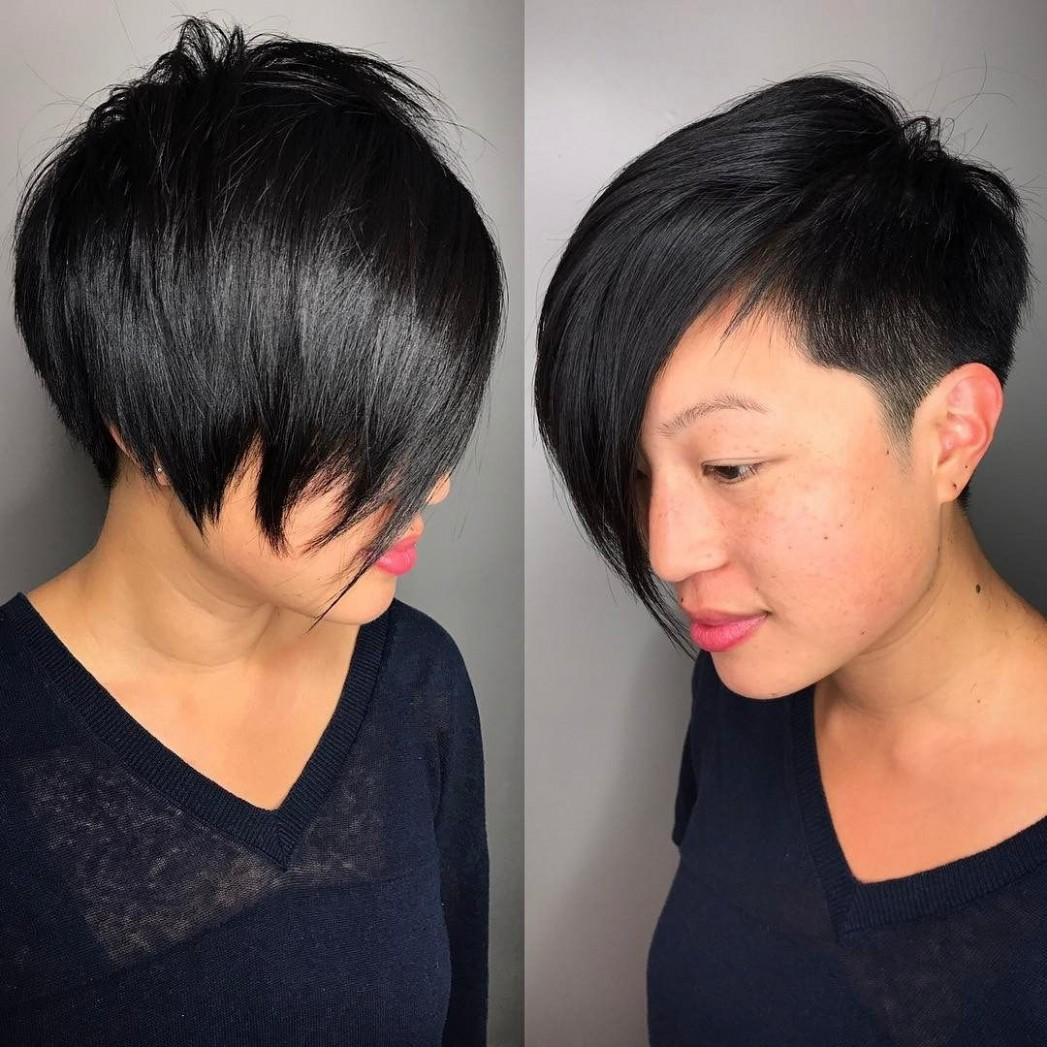 Pin On My Style Asian Pixie Cut