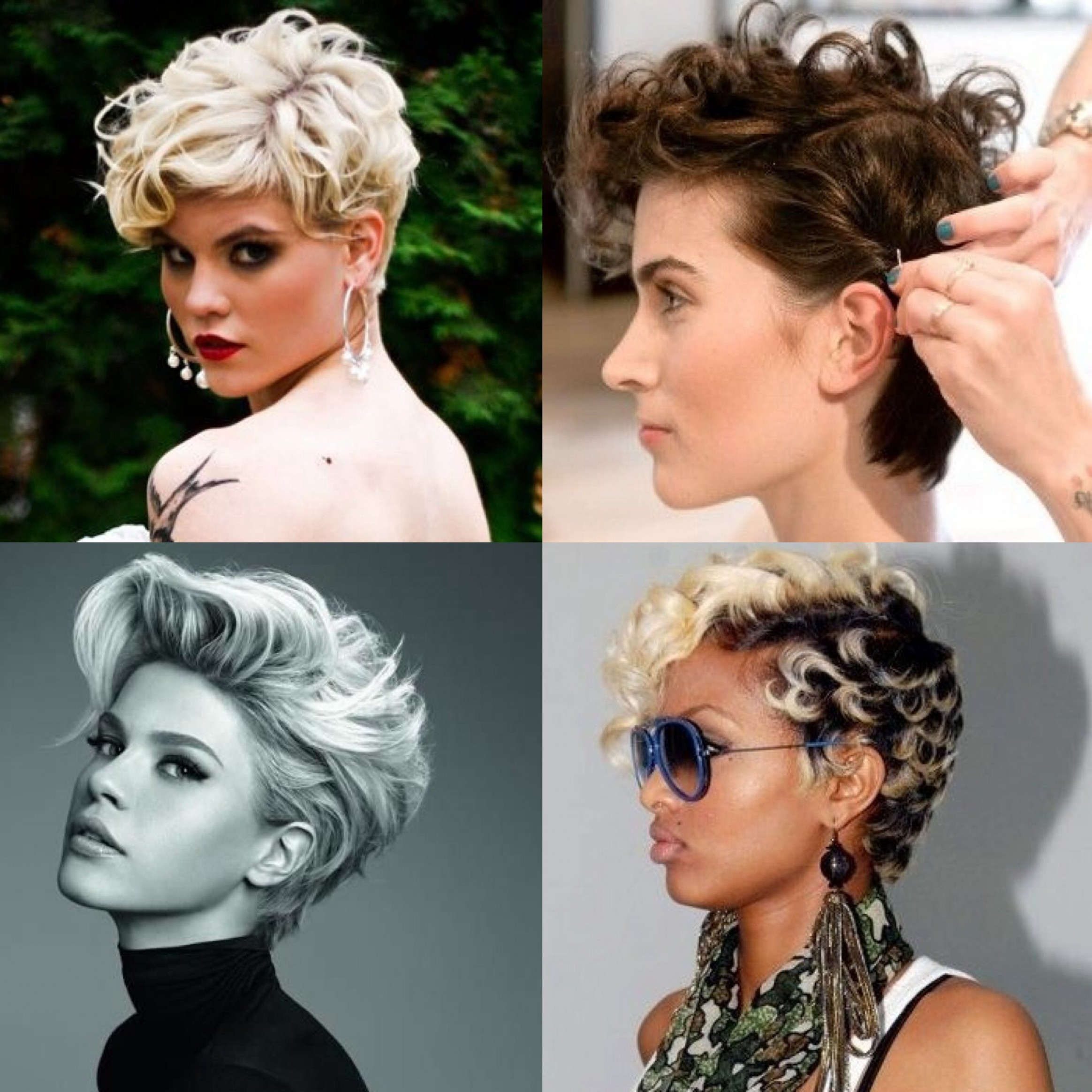 Pin On New Hairstyle? Long Curly Pixie
