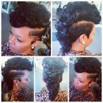 Pin On Sew Ins Short Mohawk Hairstyles With Weave