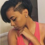 Pin On Shaved Hairstyles Shaved Side Bob Black Hairstyles