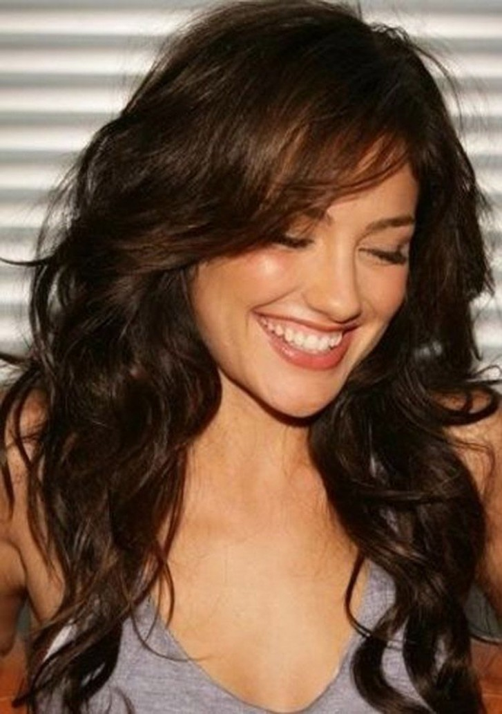 Pin On Short Curly Curly Side Swept Bangs