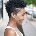 Pin On Short Edgy Natural Hairstyles For Women Tapered Natural Haircut