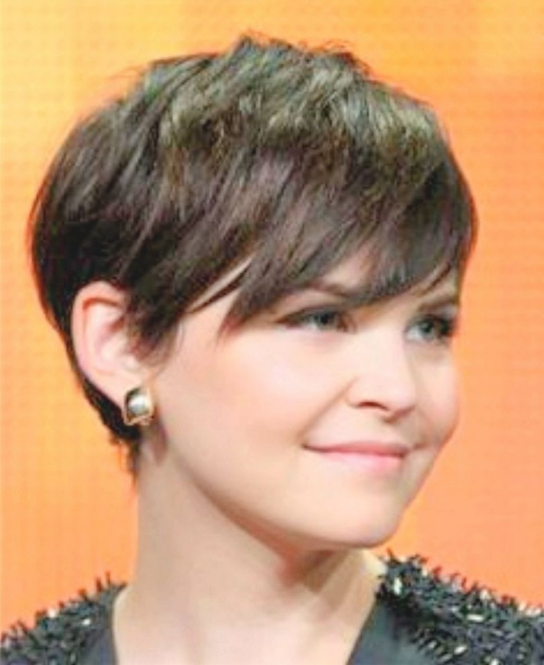 Pin On Short Haircuts Pixie Cut For Round Face