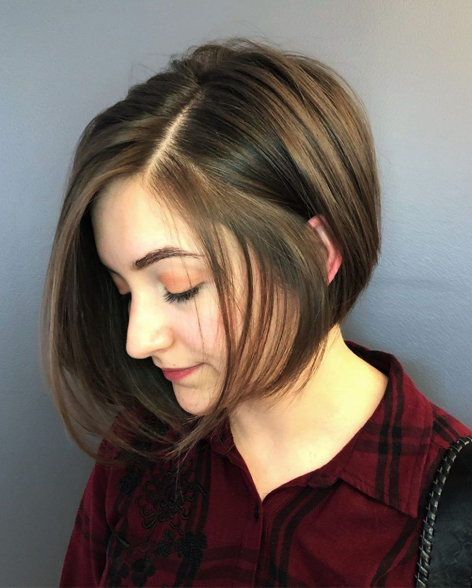 Pin On Short Hairstyles For Round Faces Short Hair For Circle Face