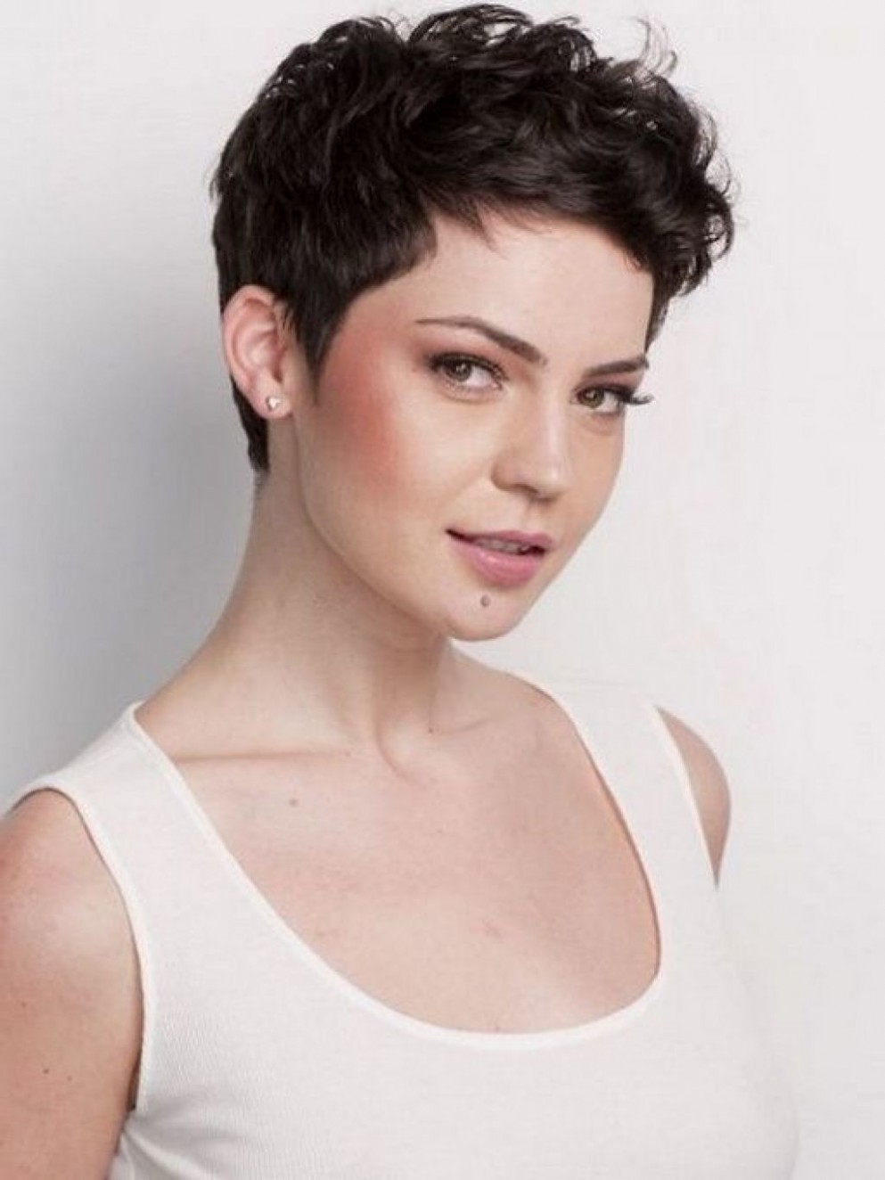 Pin On Short Pixie Haircuts Pixie Cut For Thick Curly Hair