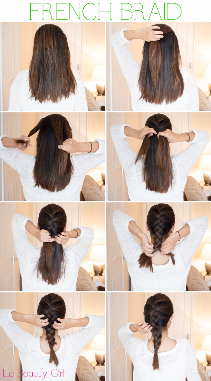 Pin On Tutorials For Short Hair Braids For Short Hair Step By Step