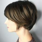 Pin On Wavy Bob 9 Long Pixie Cut For Thick Hair