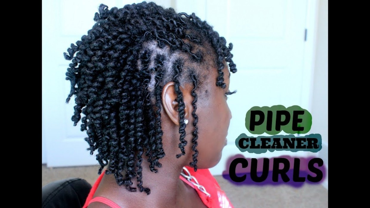 Pipe Cleaner Curls on Short Locs ThrowBack  NaturalBeauty11