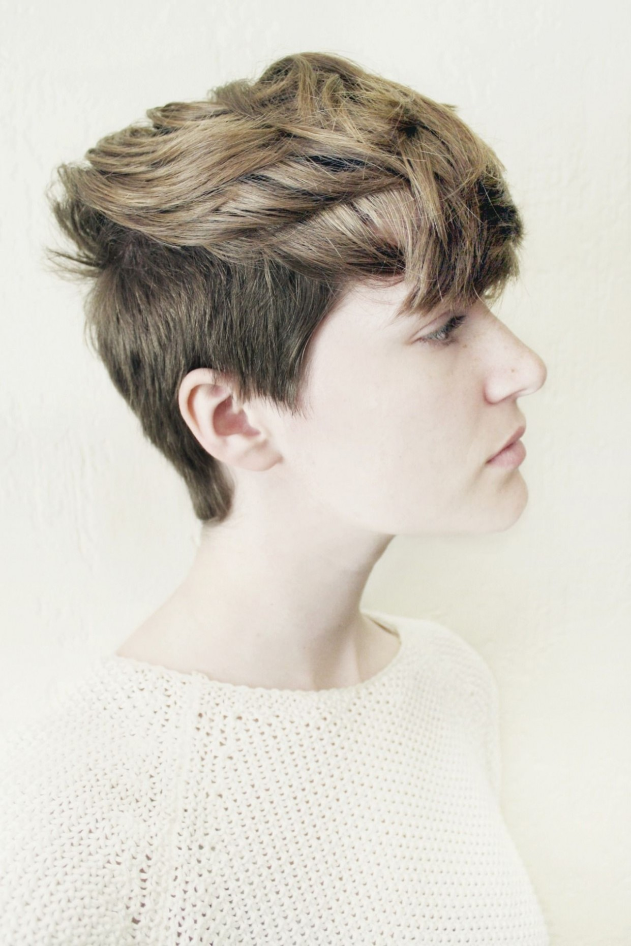Pixie Cropped  Ftm haircuts, Short hair styles, Androgynous hair