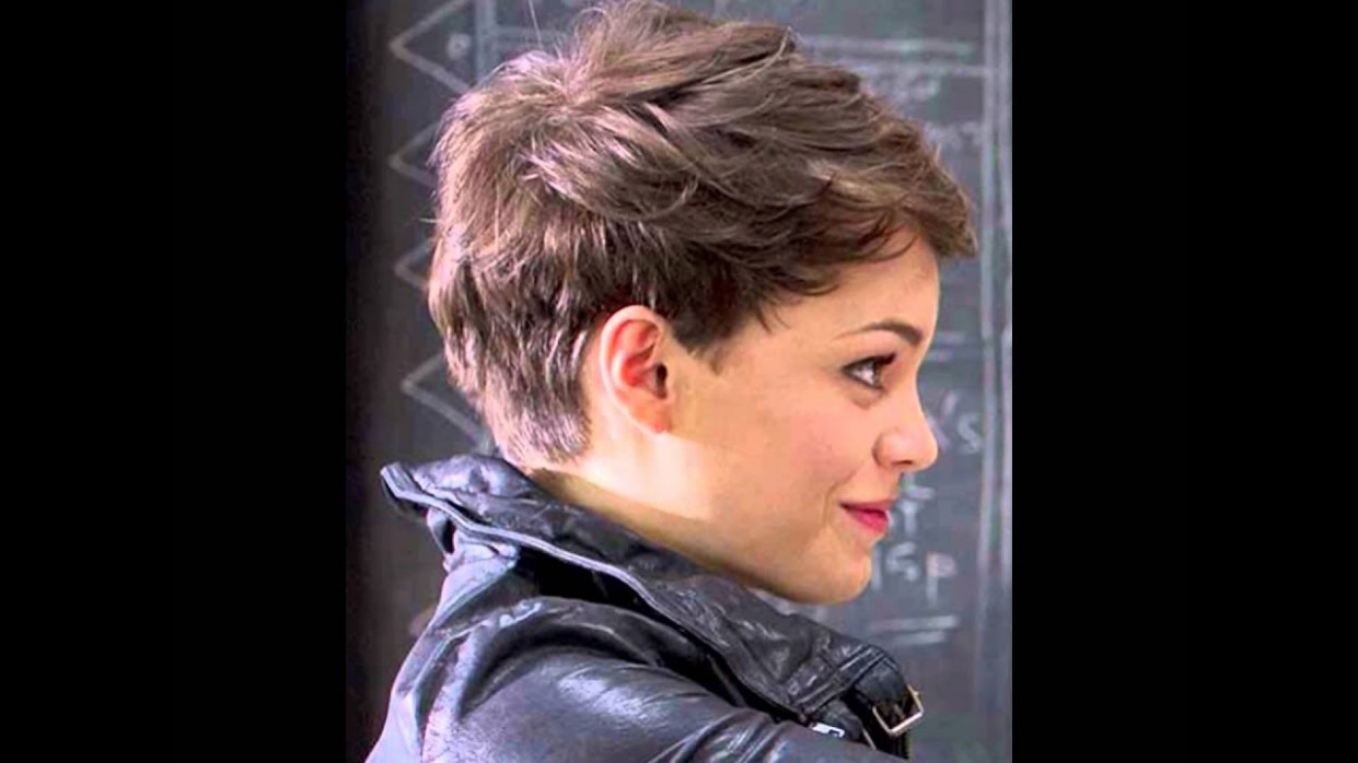 Pixie Haircut For Round Face YouTube Pixie Cut For Round Chubby Face