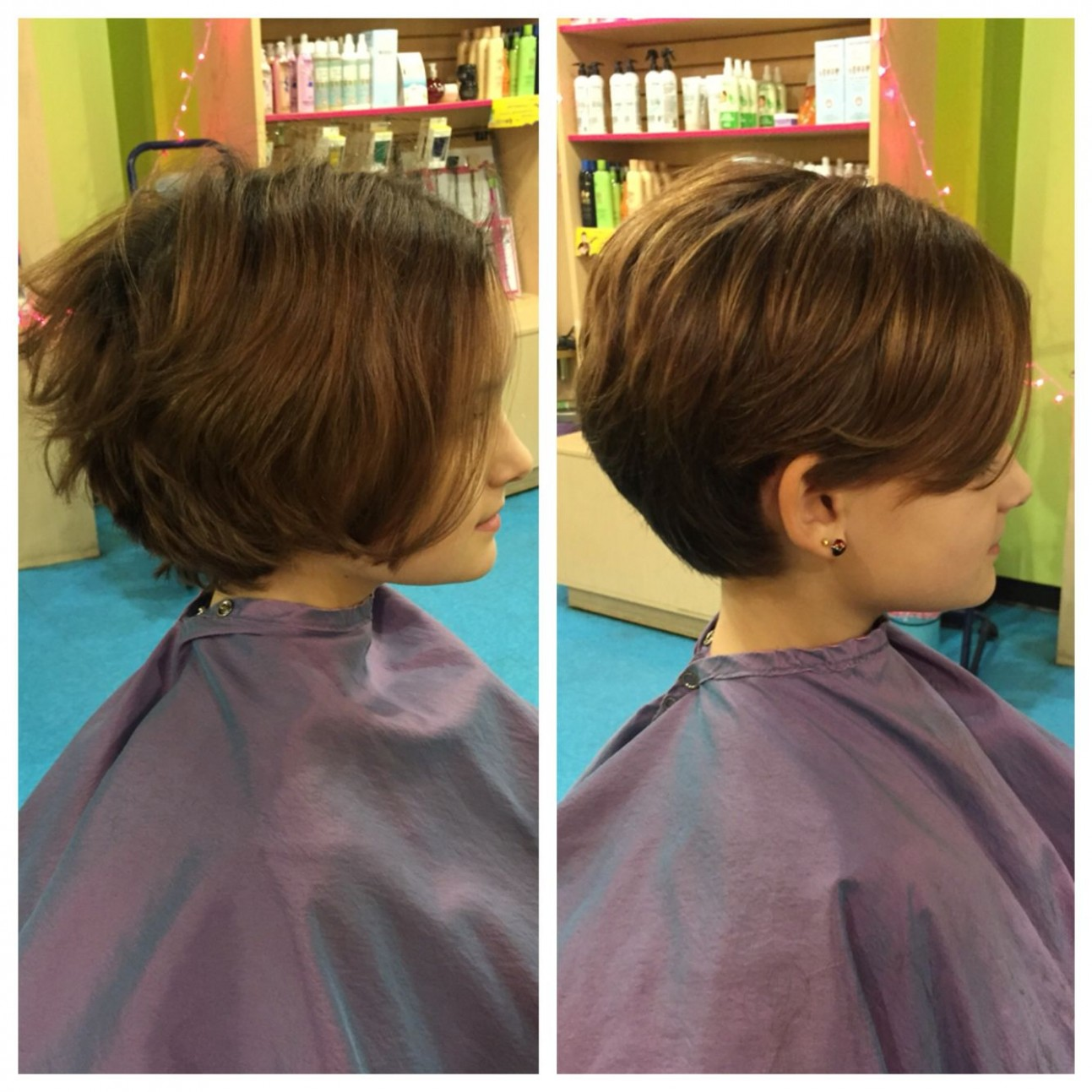 Pixie #haircut #kid #beforeandafter By Yours Truly @amy Ziegler Kids Pixie Cut