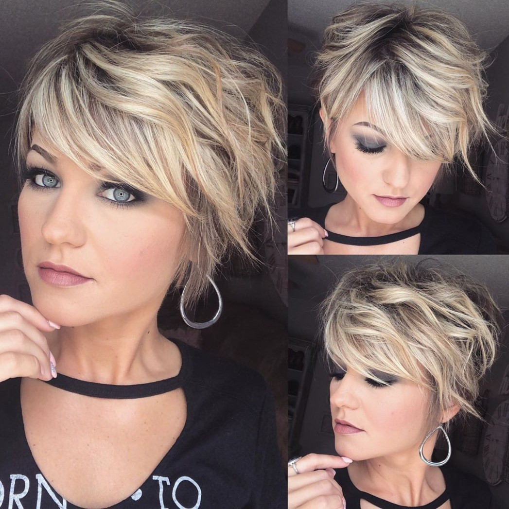 Pixie Haircuts With Bangs 12 Terrific Tapers Blonde Haircuts Balayage Pixie Cut
