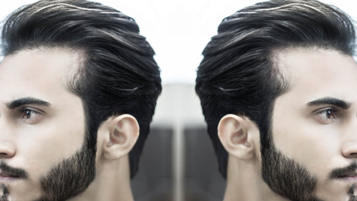 Pompadour Hairstyle For Men Long Hair Hairstyles Men INDIAN Hairstyles Men Long Hair Pompadour